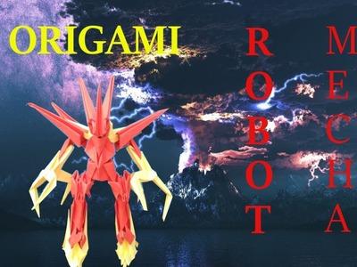 Origami #4 Robot Mecha
