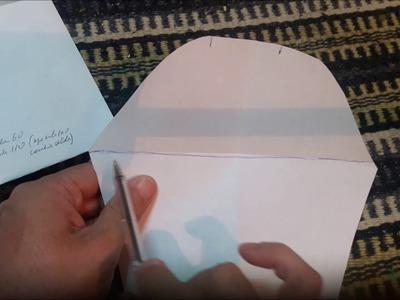 Tejer a maquina medidas de una prenda tejida parte 3