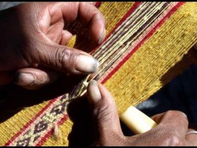 Tejido Tradicional Andino de la Comunidad de Pacchanta (distrito de Ocongate. Quispicanchi, Cusco).