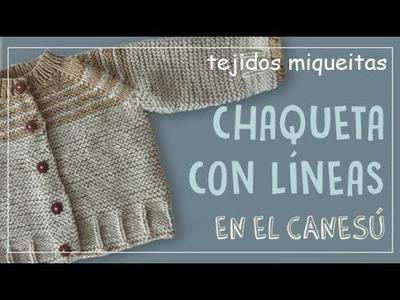 Tutorial para hacer una chaqueta con líneas en el canesú (Subtitles)