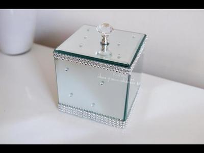 Caja de Espejos y base para Brochas