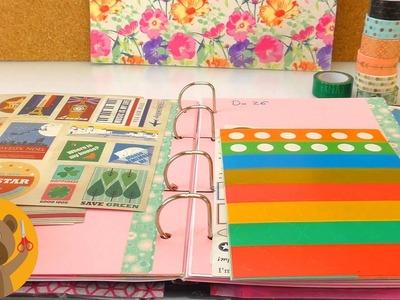 Calendario DIY | Decora la semana entera | Ideas para decorar tu agenda u organizador | HAUL Vintage