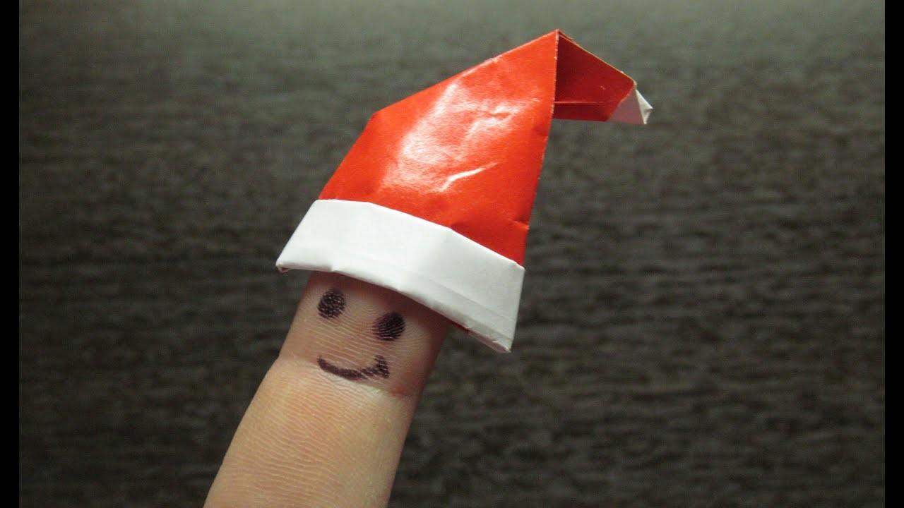Como hacer un sombrero de papel adornos navide os for Adornos navidenos origami paso a paso