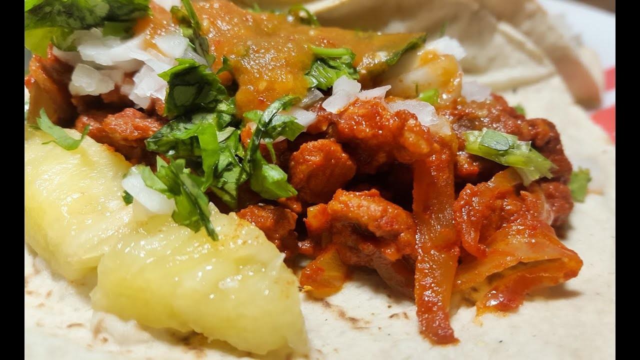 Como preparar tacos al pastor | Cocinando con angel