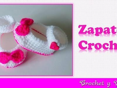 Como tejer escarpines zapaticos para bebés tejidos a crochet (ganchillo) ???? Parte 2