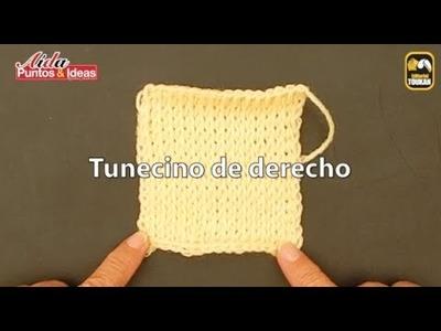 Cómo tejer Tunecino de Derecho