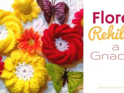 Flores de Rehilete a Gancho