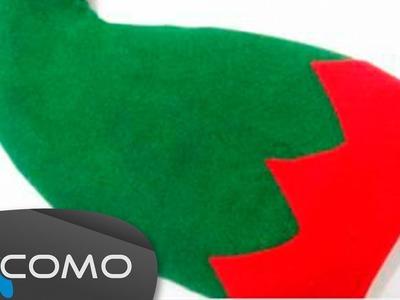Hacer un sombrero verde de Duende