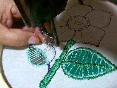 La flor del guayabo bordado y gancho