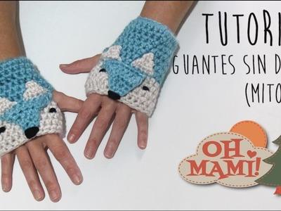 Mitones o guantes sin dedos ( Foxy )