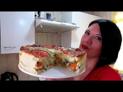 PASTEL DE VERDURAS - FACIL Y RICO. Silvana Cocina ❤