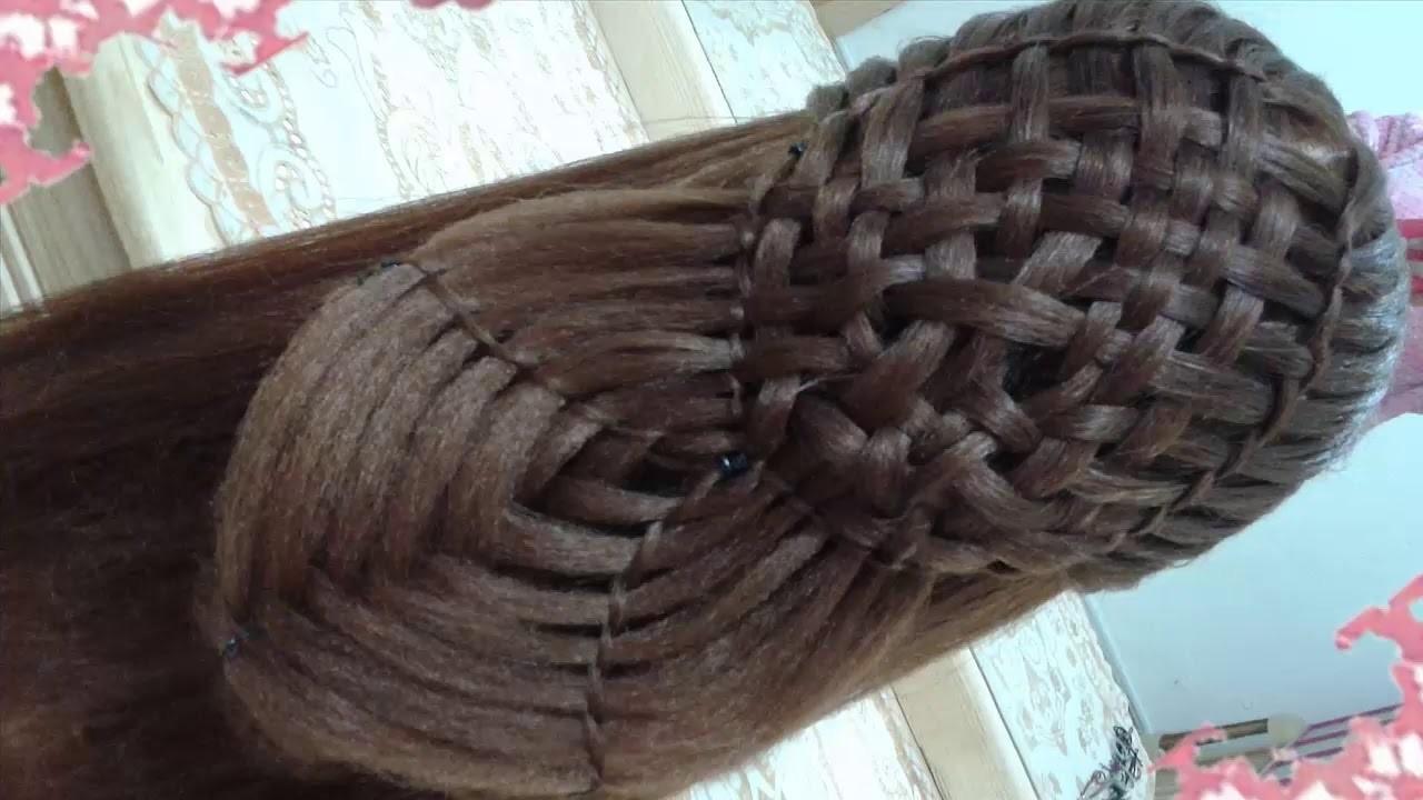 Peinados recogidos faciles para cabello largo bonitos y rapidos con trenzas para niña para fiestas40