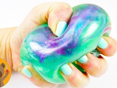 Pelota anti estrés GALAXY | Pelota de gel Super linda y Brillante | Ideas DIY