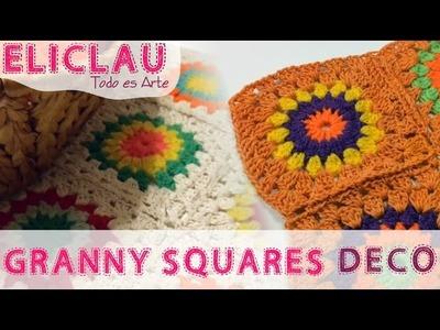 Un camino de Granny Squares | A Road to Granny Squares | EliClau
