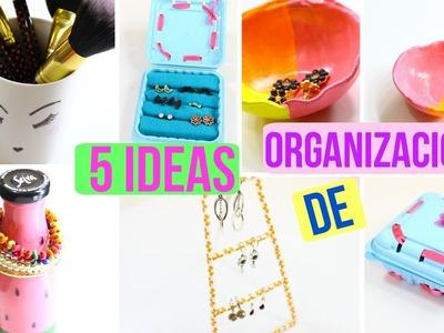 5 ideas para organizar tus accesorios