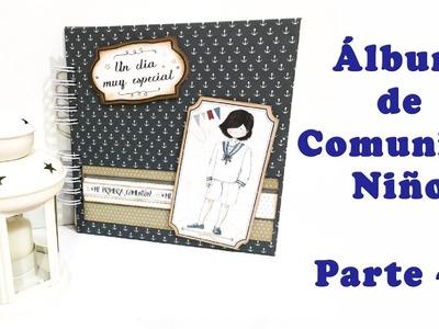 Álbum de Comunión niño - parte 1