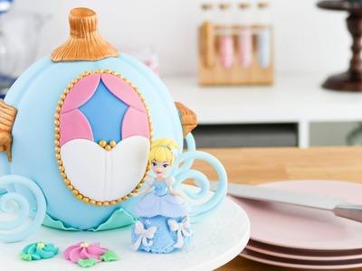 Carruaje de La Cenicienta - Torta decorada - Fácil ☆ Tan Dulce
