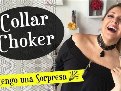 Collar Choker con Encajes :. Chuladas Creativas y el Mundo de Isa SORPRESA!