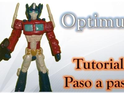 Como Hacer a Optimus de Plastilina ✅ How to Make Plastiline Optimus Tutorial