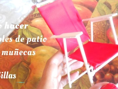 Como hacer muebles para patio  1de3   SILLAS