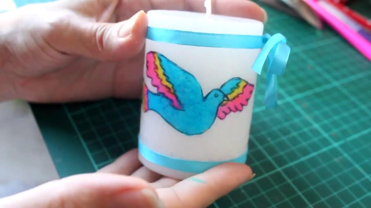 Cómo hacer tus propias servilletas para decoupage - How to personalize your napkins - Tutorial
