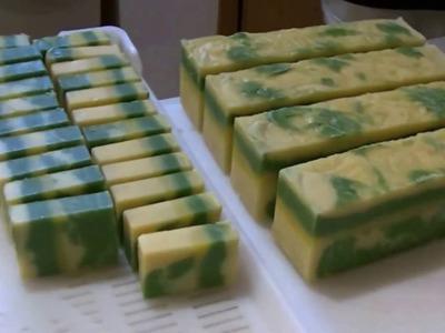 Como hice el Jabon de Lemongrass ( Limoncillo Republica Dominicana)
