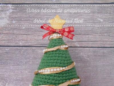 Curso básico de amigurumis: árbol de Navidad fácil. SORTEO EN FACEBOOK.