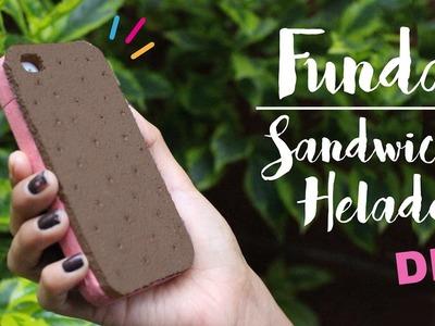 DIY FUNDA PARA CELULAR FÁCIL! | FUNDAS DE TELEFONO CASERAS | CookingPaper