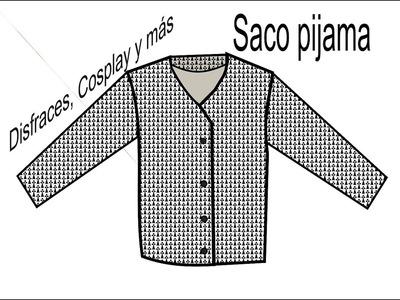 DIY Saco pijama para niño. Proceso + Patrones gratis.