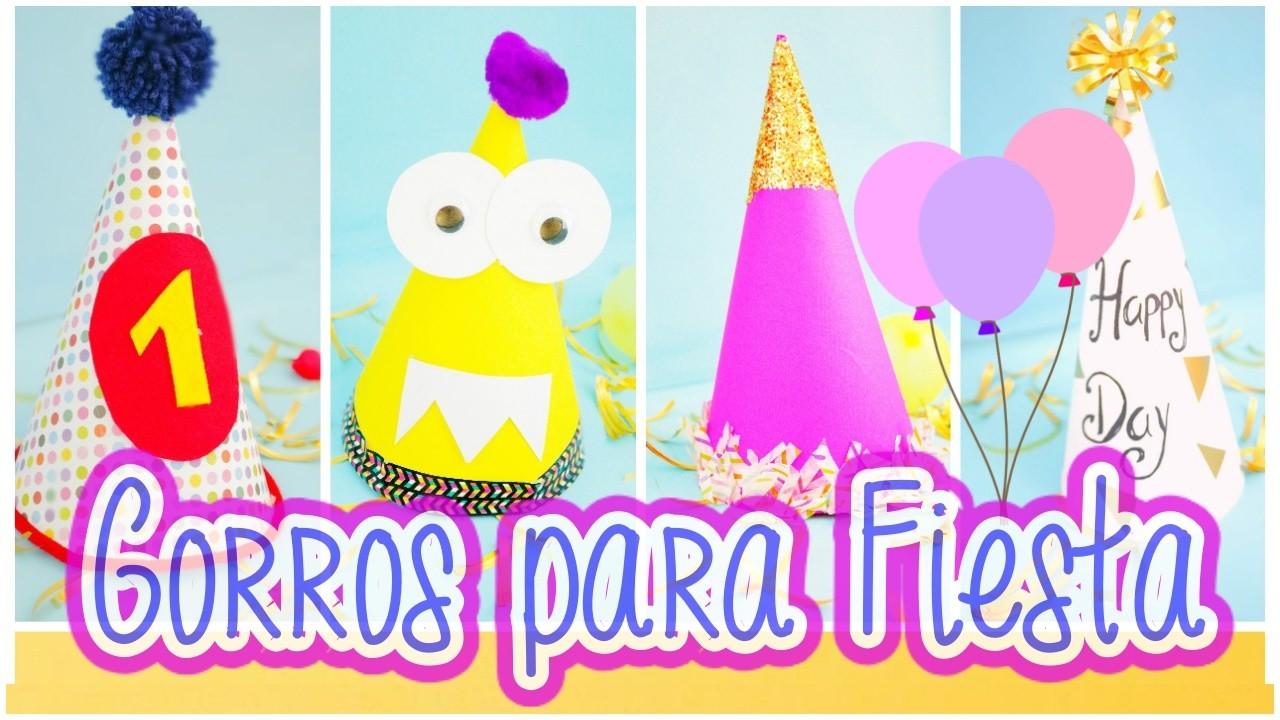 Gorritos de  Fiesta. Facil y Rapido by WendyLou