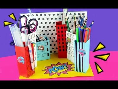 LAPICERA con cajas de carton * CIUDAD Comic