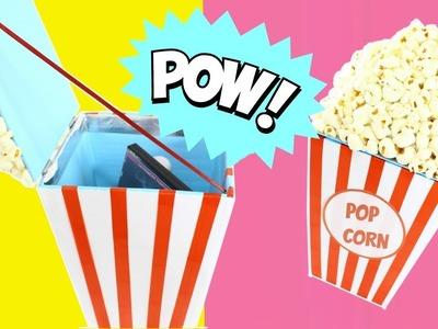 Organizador.caja de regalo popcorn