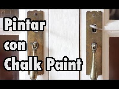 Pintar con Chalk Paint: renovar un mueble con pintura de tiza