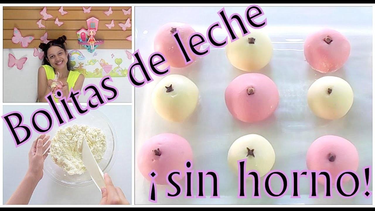 Receta de bolitas de leche sin horno | ♥L.C.M ♥