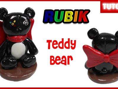 Rubik Teddy Bear Polymer Clay Tutorial ✰ Porcelana Fría ★ Plastilina