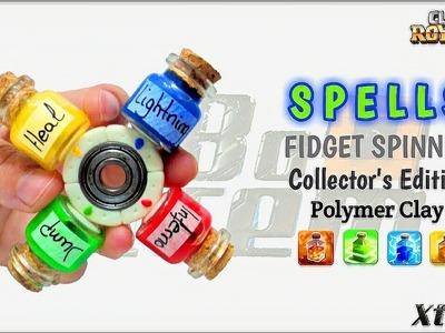 SPELLS SPINNER   Clash Royale   Liquid Silicone Tutorial