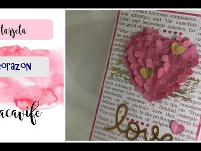Tarjeta corazon Heart Card