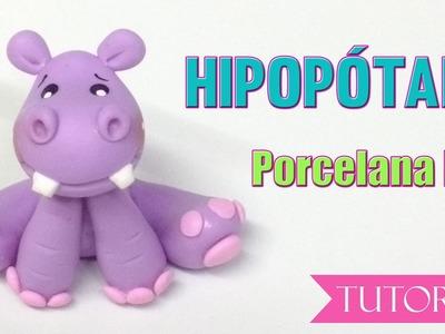 Tutorial Hipopotamo en porcelana fria. how to make