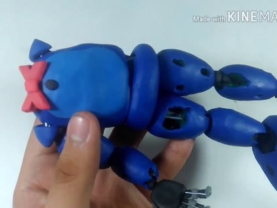 "Tutorial ""WITHERED BONNIE"" de plastilina"