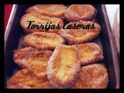 Vídeo-receta de torrijas de pan