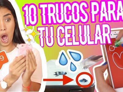 10  TRUCOS SECRETOS en tu celular   ClaudipiaaChic