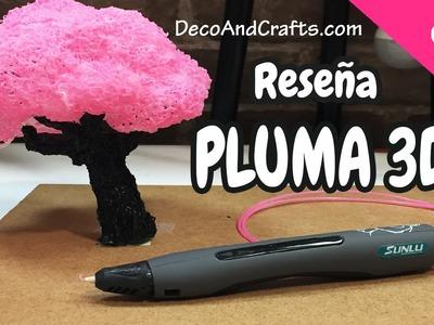 3D PEN Económica y funcional !! Reseña Pluma 3D- DecoAndCrafts