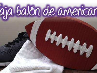 Caja de regalo Balón de futbol Americano, American Football Ball Gift Box