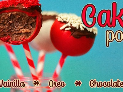 CAKE pops - Sin horno y sin pastel ¿What?