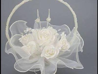 Cestas para llevar los anillos el día de tu boda