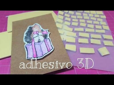 Como hacer adhesivo 3D