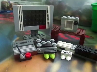 Como hacer consolas Lego (Parte2) xbox y atari (Mr :P)