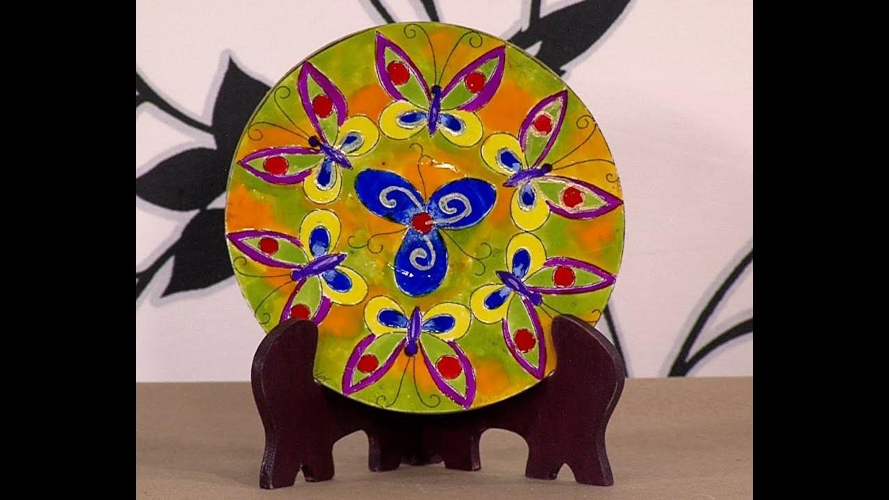 Como Hacer Cuadro de Mandala en Material Reciclable- Hogar Tv  por Juan Gonzalo Angel