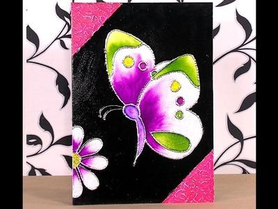Como Hacer Cuadro de Mariposa en Tecnica de Esmaltado - HogarTv por Juan Gonzalo Angel
