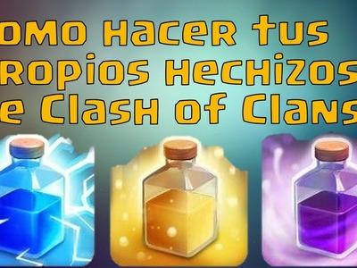 Como hacer hechizos de Clash Royale. Clash of Clans en la vida real